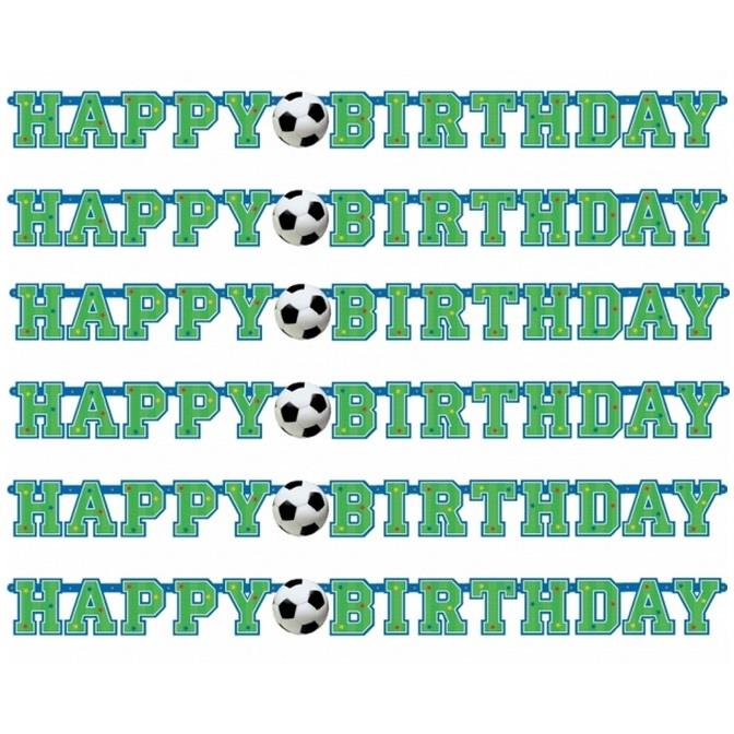 Championship Soccer | Football Happy Birthday Banner | Decoration