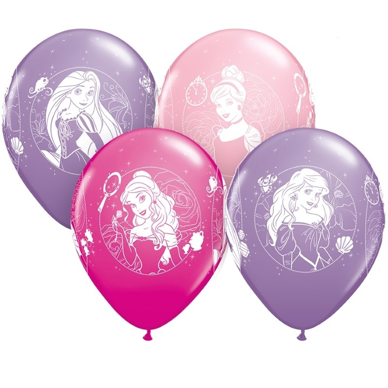 Disney Princess Helium Quality Latex Party Balloons