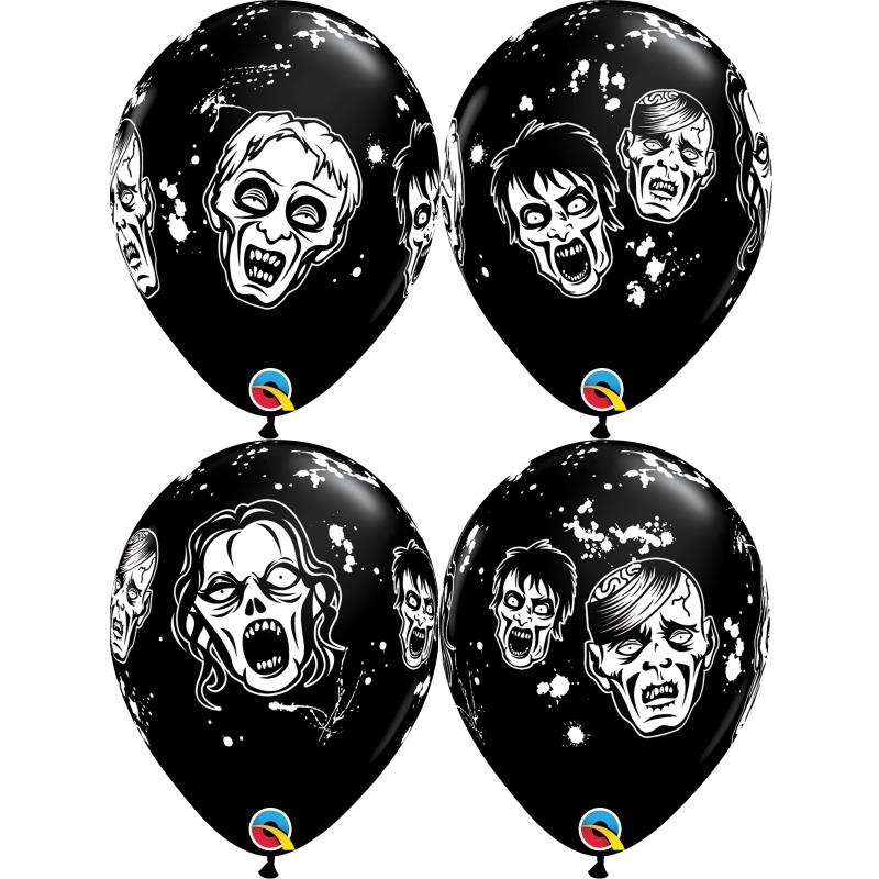 Halloween Zombie Helium Quality Latex Party Balloons