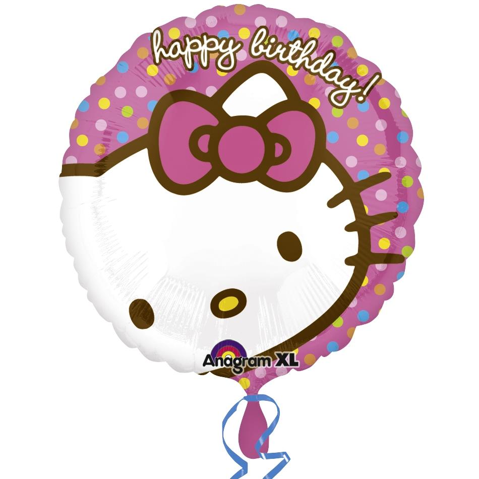 Hello Kitty Happy Birthday Foil | Helium Balloon