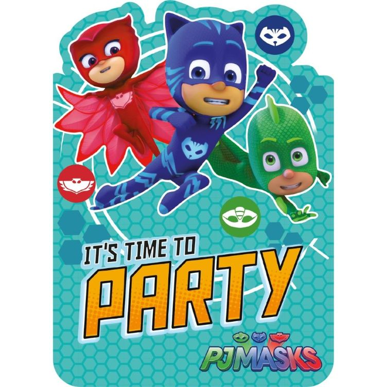PJ Masks Party Invitations | Invites