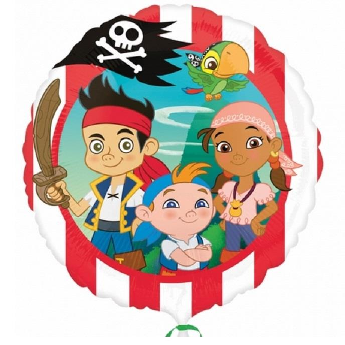 Jake Neverland Pirates Foil | Helium Balloon