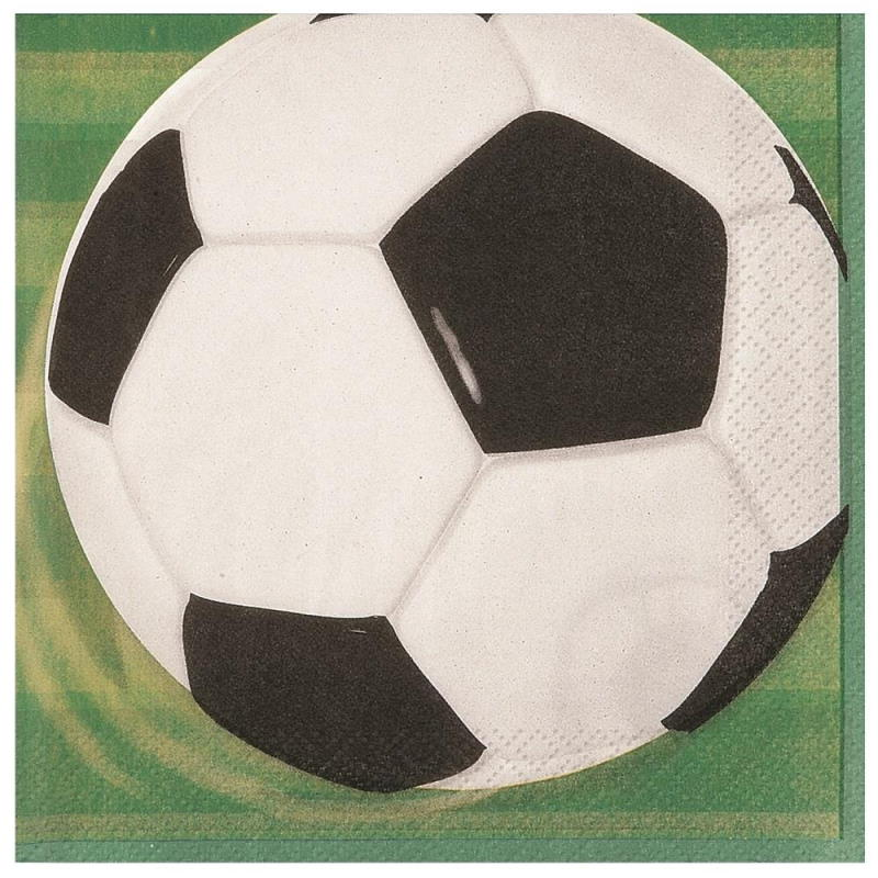 3D Soccer | Football Party Napkins | Serviettes