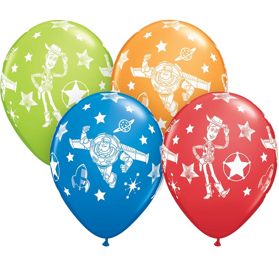 Disney Toy Story 25pk Party Latex Balloons