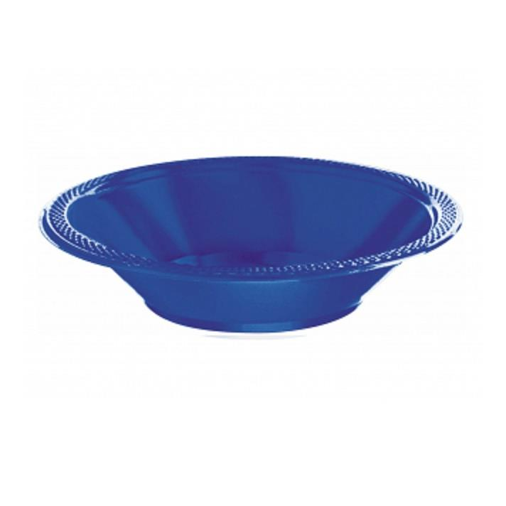 Royal Blue Plastic 18cm Party | Dessert Bowls