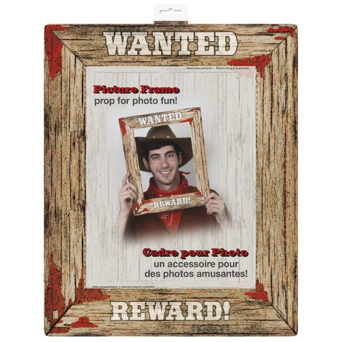 Western Party Party Picture Frame Photo Prop | Picture Frame