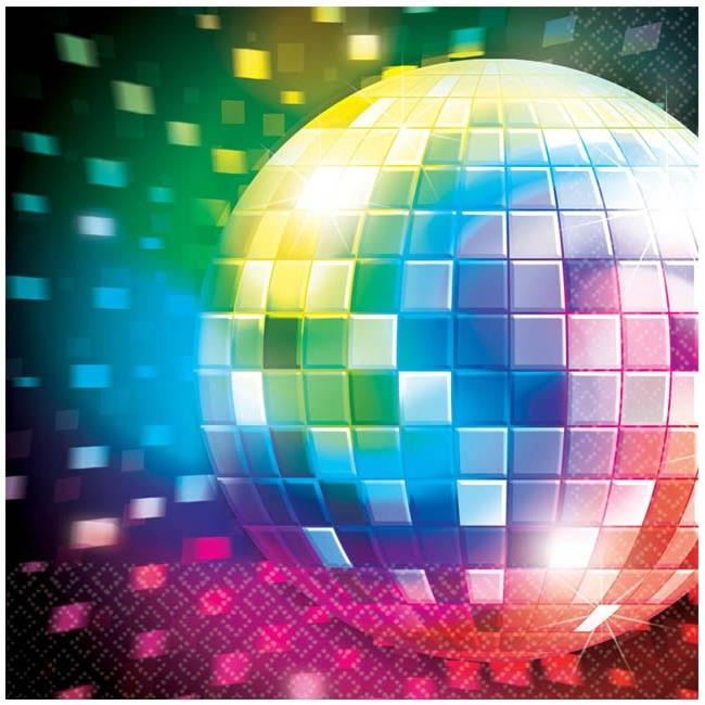 1970's Disco Party Napkins | Serviettes