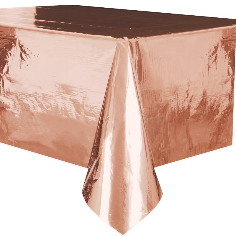 Rose Gold Foil Party Tablecover | Tablecloth