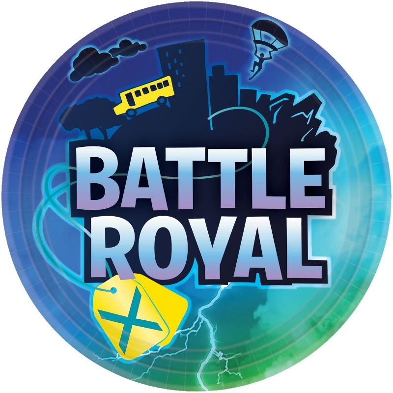 Battle Royal | Gaming Party 23cm Party Plates
