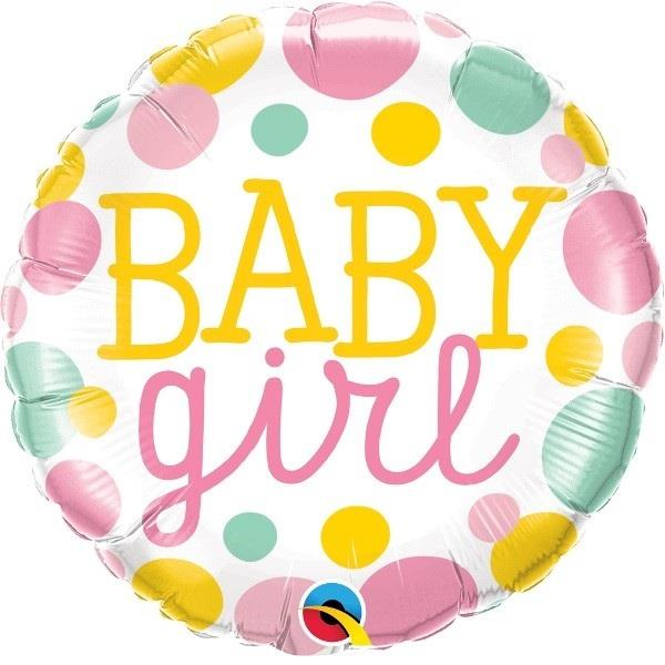 142bcc412b23 Baby Girl Pink Dots Baby Shower 18
