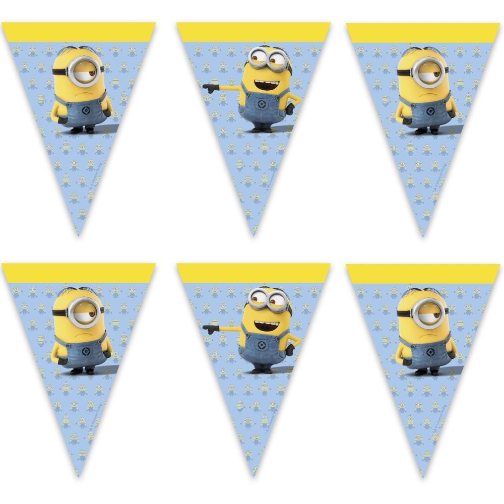 Minions Lovely Flag Banner