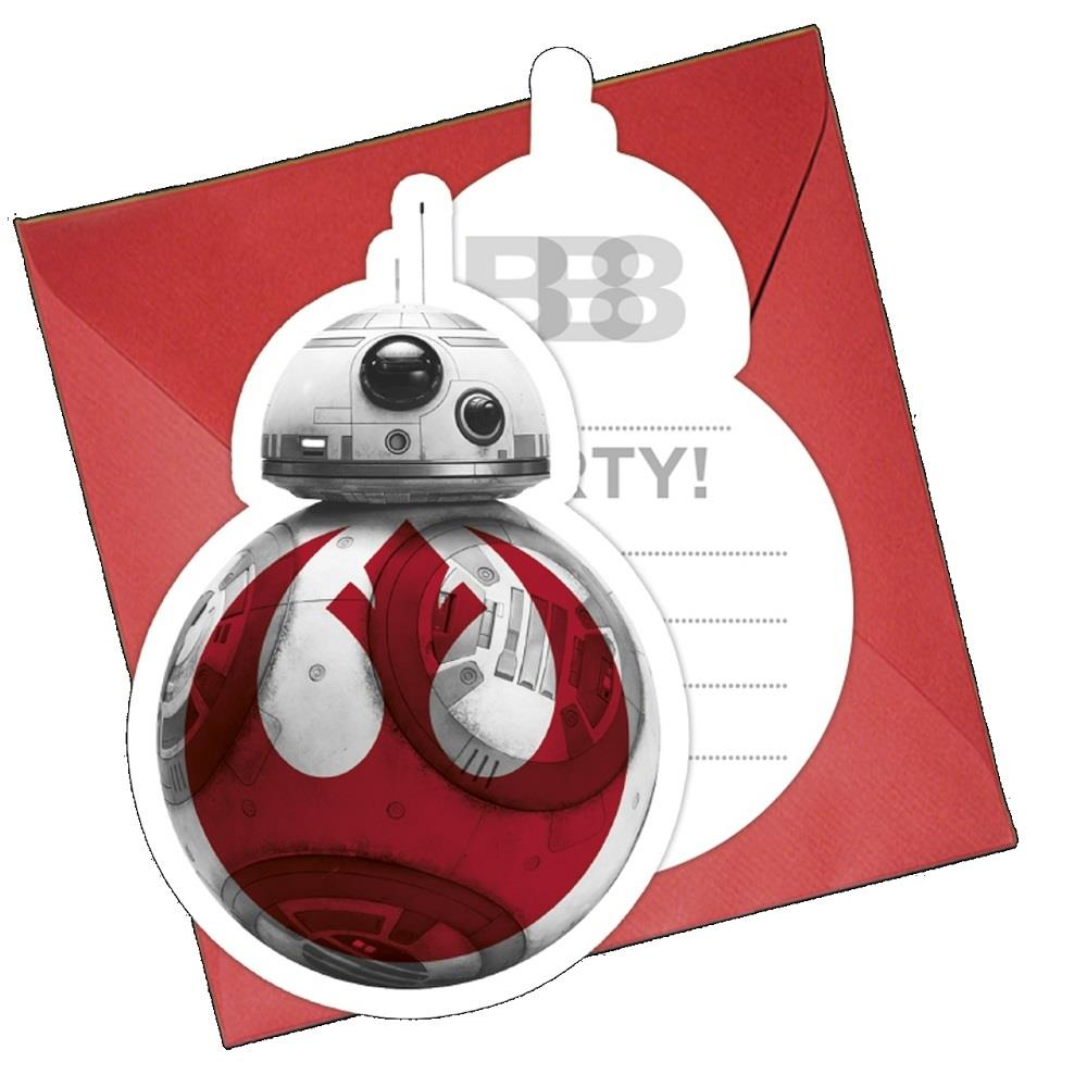 Star Wars Ep8 Party Invitations Invites