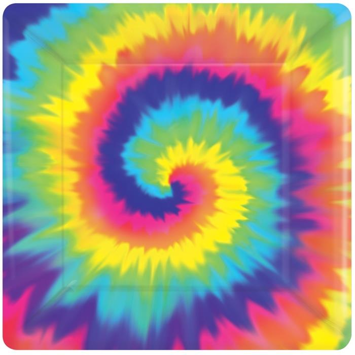 1960's Groovy | Hippy Themed Party Plates