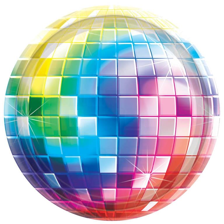 1970's Disco Ball | Fever Themed Party Plates