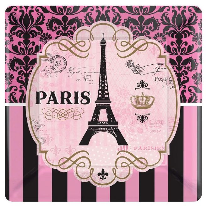 A Day in Paris Parisienne Foil Balloon