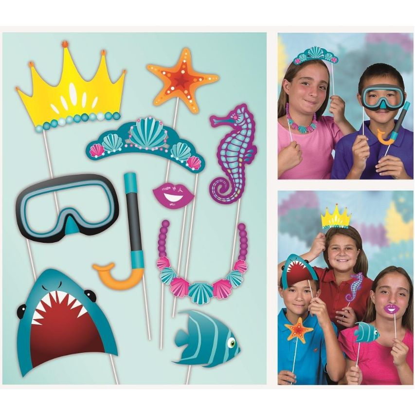 Under the Sea | Ocean Photo Booth Party Props