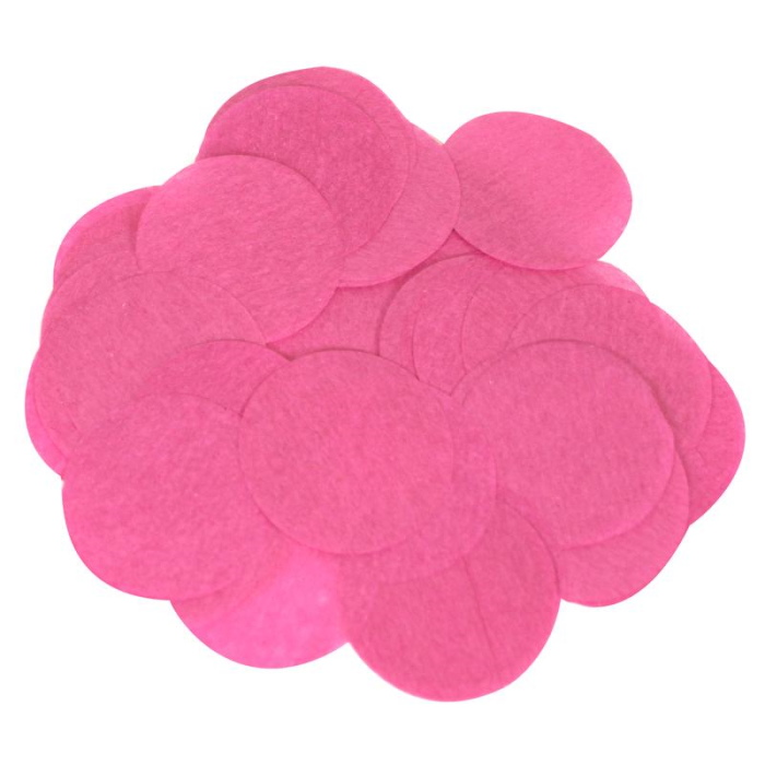 Hot Pink 15mm Paper Table Confetti | Decoration