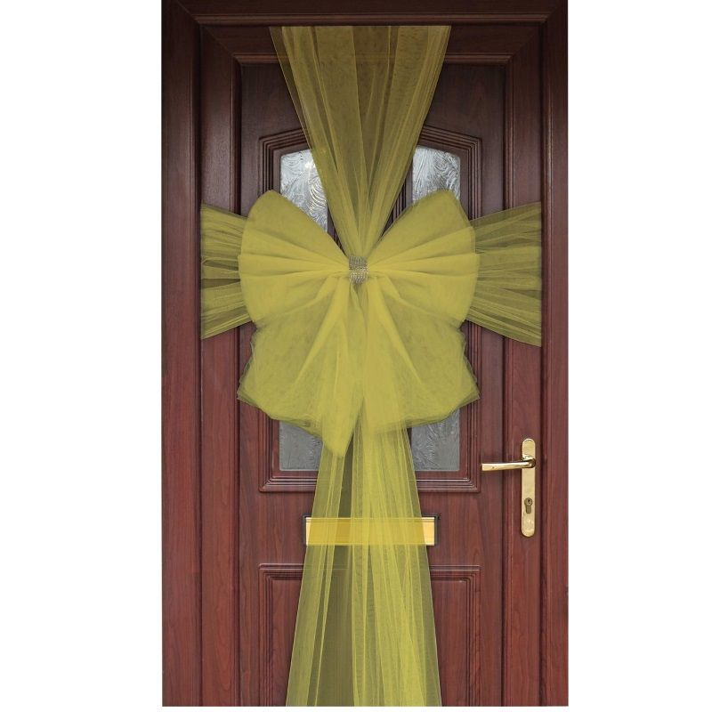 Gold Eleganza Door Bow | Decoration