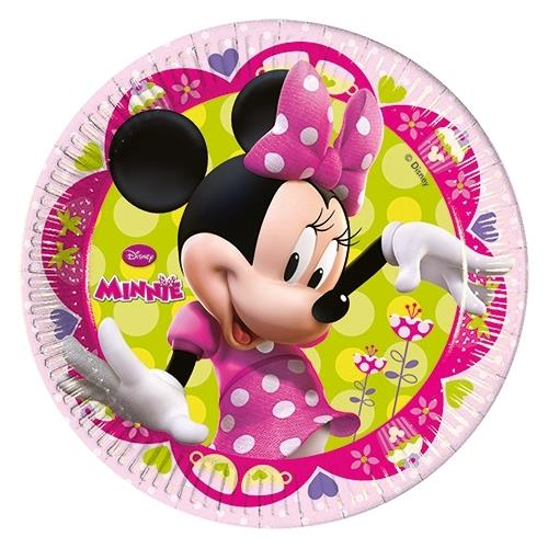 sc 1 st  Party Save Smile & Minnie Mouse Bow-Tique Party Cake Plates