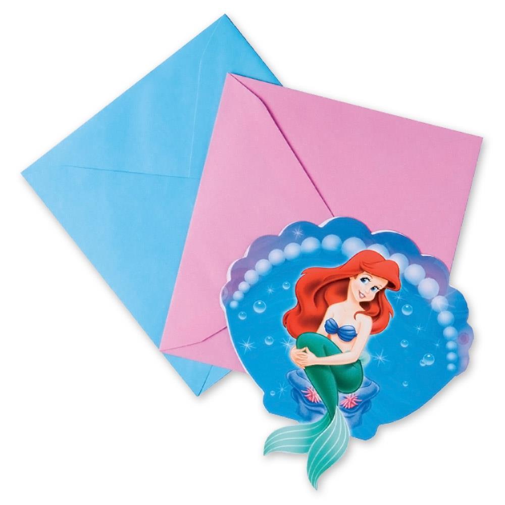 Little Mermaid Party Invitations | Invites