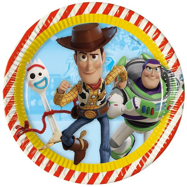 Toy Story 4 23cm Party Plates