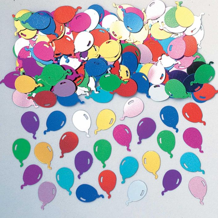 Balloons Party Table Confetti | Decoration