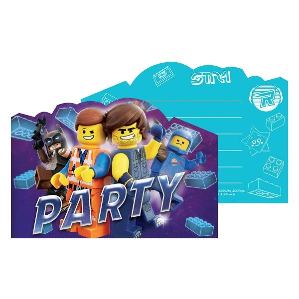 Lego Movie 2 Party Invitations | Invites