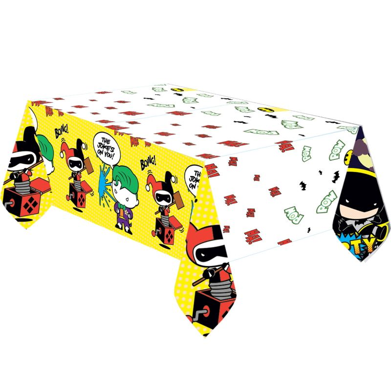 Batman vs Joker Cartoon Plastic Tablecover | Tablecloth