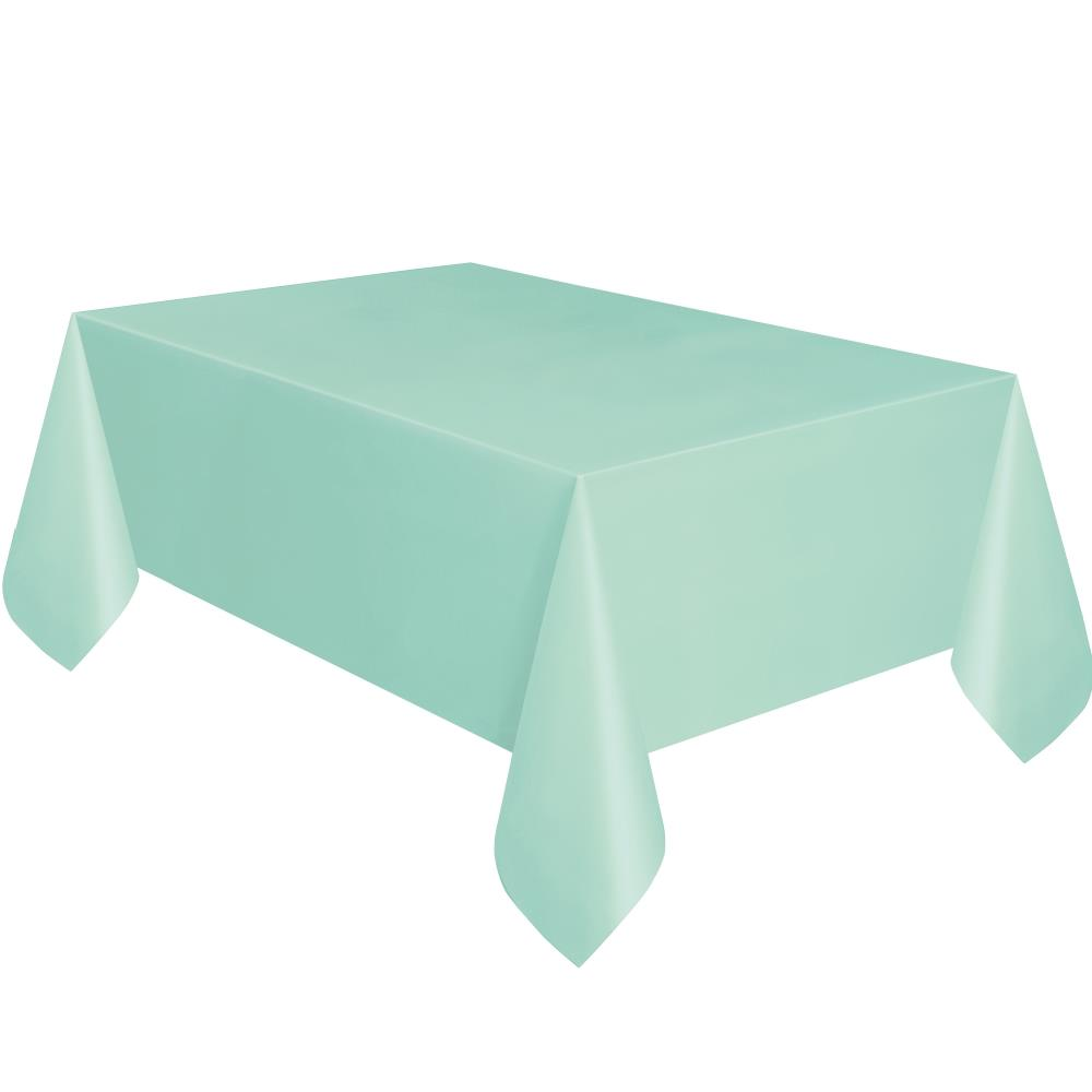 Mint Green Party Tablecover | Tablecloth