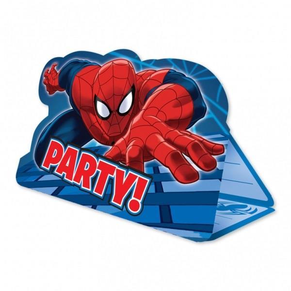ultimate spiderman party invitations invites