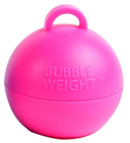 Pink Bubble Balloon Weight 35g Table Centrepiece | Decoration (Bulk)