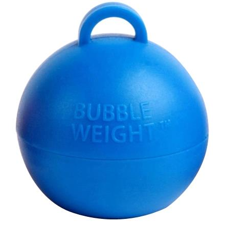 Blue Bubble Balloon Weight 35g Table Centrepiece | Decoration (Bulk)