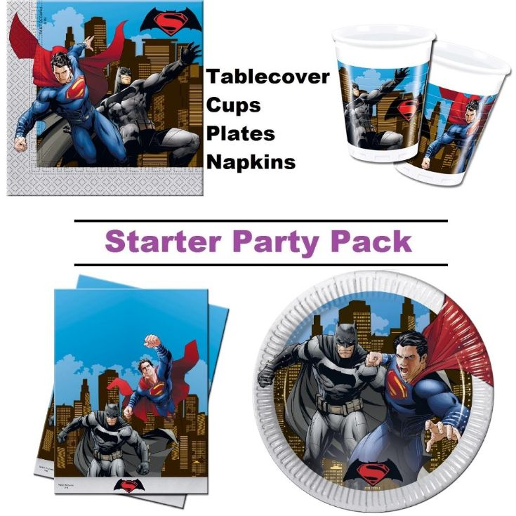 Batman Vs Superman Party Supplies