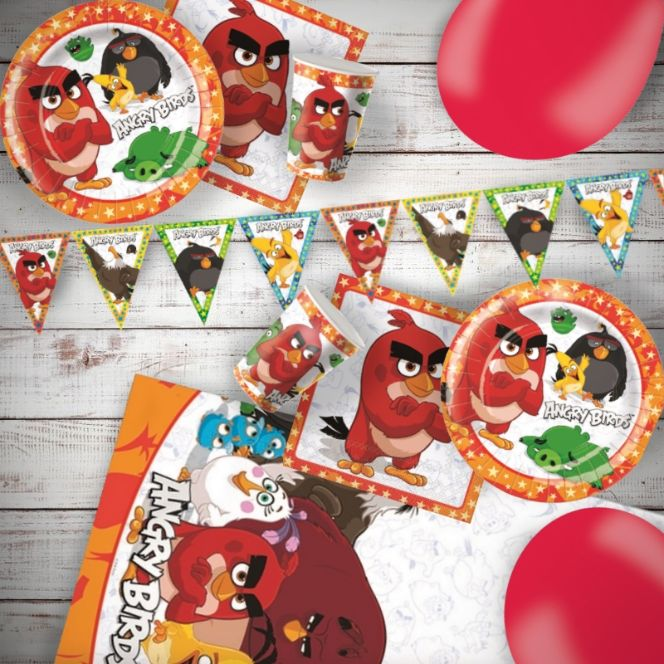 Angry Birds Movie Party Supplies Decorations Balloons
