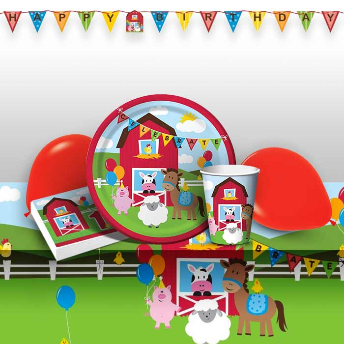 Farmhouse Fun 1st Birthday Party 8 To 48 Guest Premium Pack