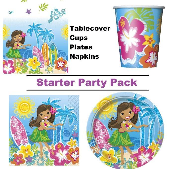 hula beach hawaiian party supplies balloon decoration pack