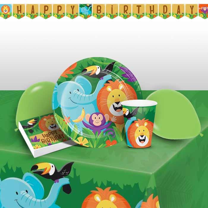 Safari Animal Party Supplies Decorations Balloons Packs