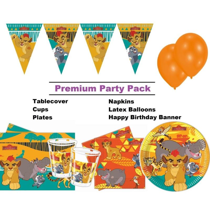 Lion Guard Party Supplies   Decorations   Balloons   Packs