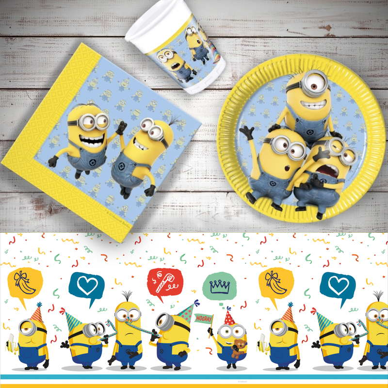 Lovely Minions 8 To 48 Guest Starter Party Pack