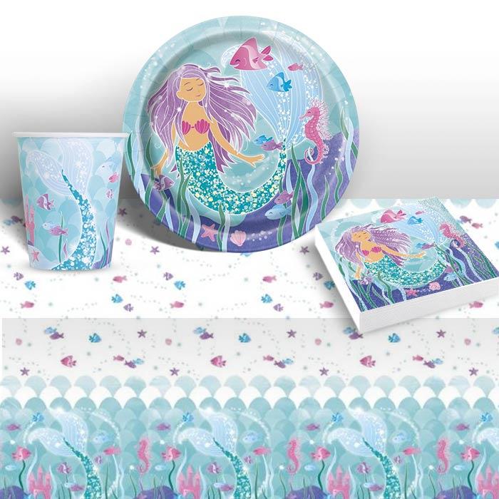 Mermaid Guest Towels: Mermaid Party Supplies, Packs, Decorations & Balloons