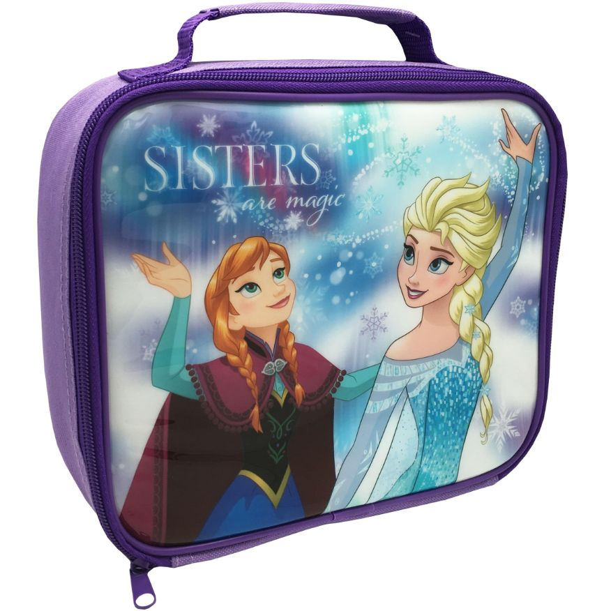 Disney Frozen Sisters Insulated School Lunch Bag