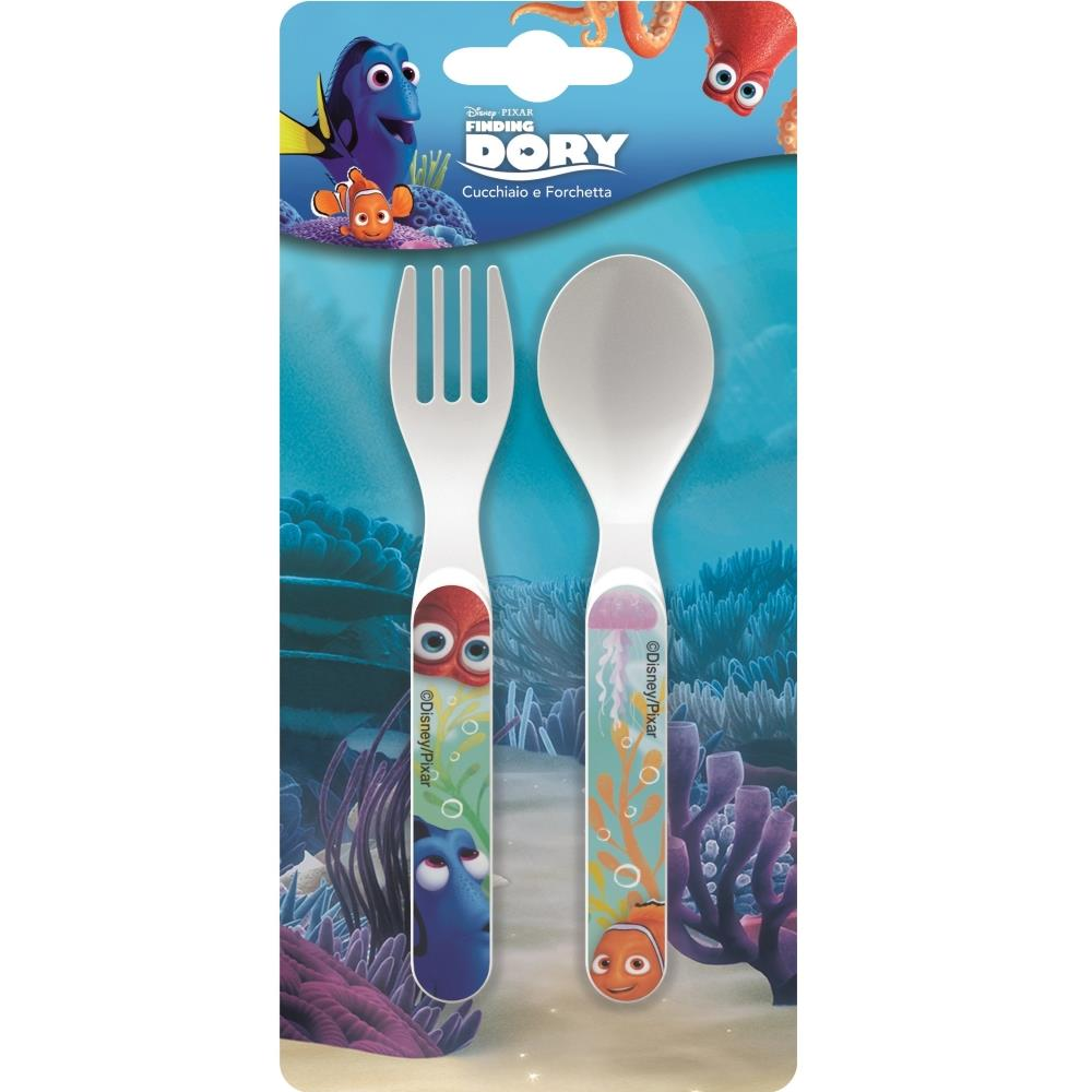 Finding Dory PP Mealtime Cutlery Spoon & Fork