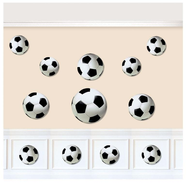 Championship Soccer | Football Assorted Cutout Decorations
