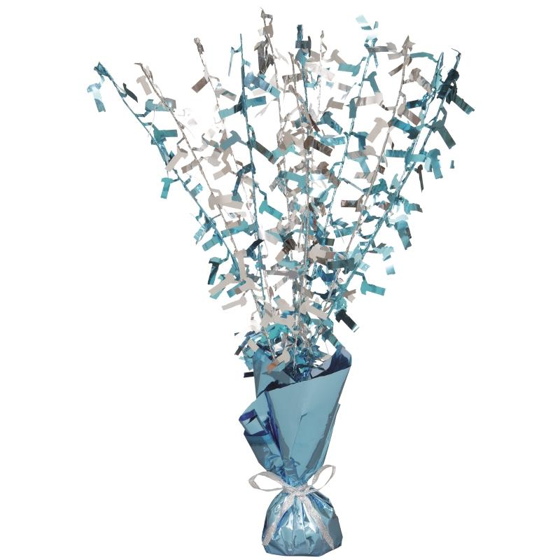 Blue Glitz Party 1st Birthday Table Centrepiece | Decoration