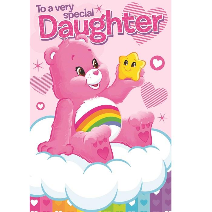 Care Bears Very Special Daughter Birthday Greeting Card