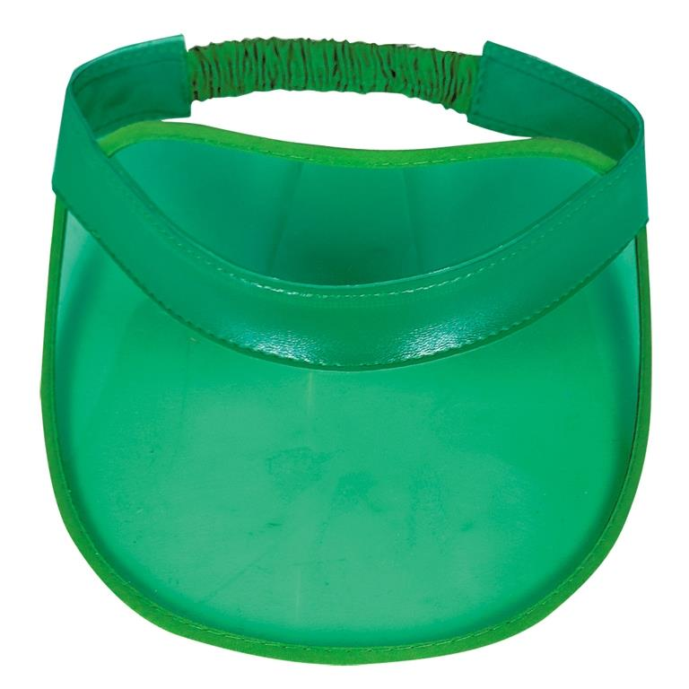 Casino Party Green Visor Party Favour Cap