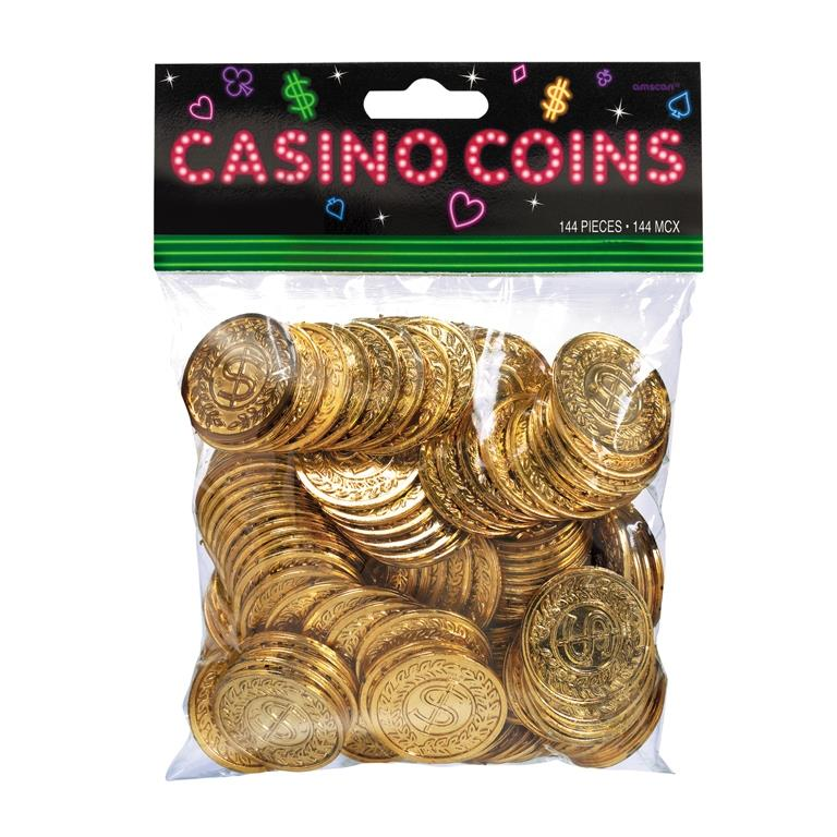 Casino Party Gold Coin | Money | Stake Favours