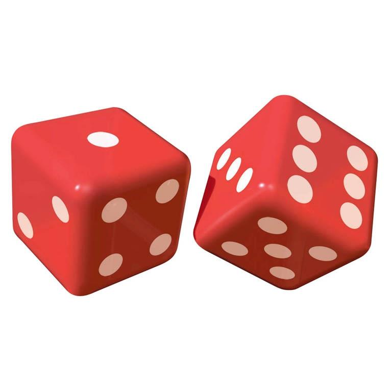 Casino Inflatable Dice Party Decorations