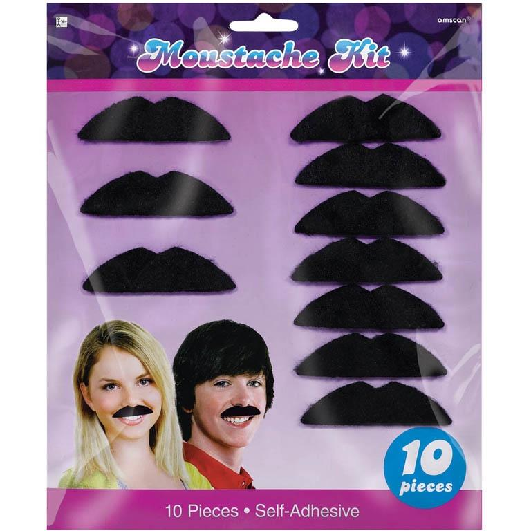 1970's Disco Party Moustaches Party Favours