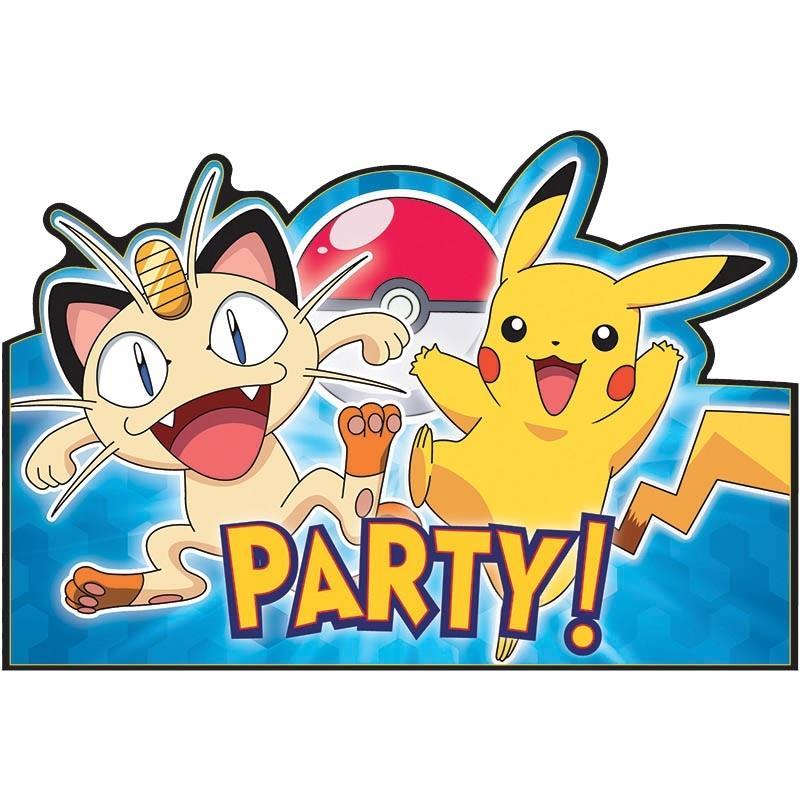 Pokemon Party Invitations | Invites